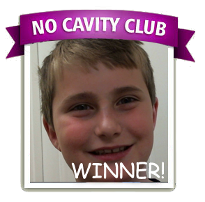 Greg is the No Cavity Club Winner of the month for March